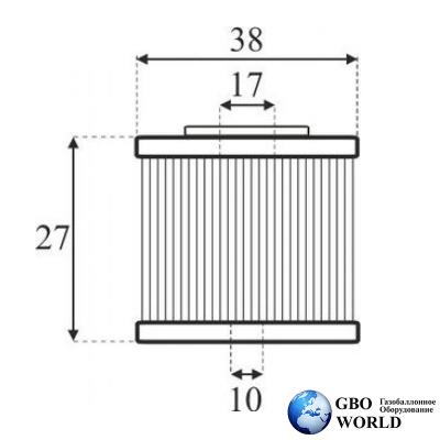 Фильтр газового клапана BRC ET98 с\о